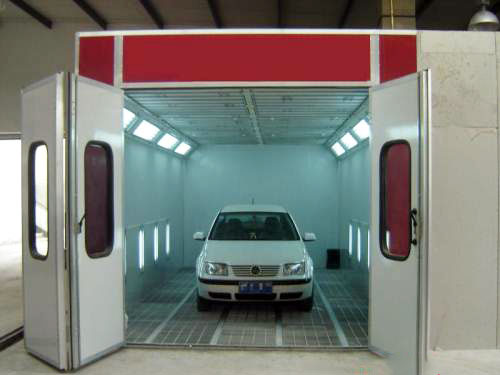 汽车烤漆房怎么安装步骤高清图片